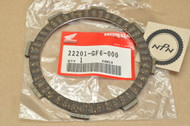 NOS Honda ATC185 CMX250 CR125 CT125 SL125 TL125 TLR200 TR200 VF500 Clutch Friction Disk 22201-GF6-000