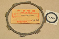 NOS Honda NX125 VF500 VTR250 Clutch Friction Disk 22201-MJ8-000