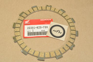 NOS Honda CR250 R CR480 R CR500 R Clutch Friction Disk 22201-KZ3-730