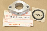 NOS Honda CB100 CB125 CL100 CL125 SL100 SL125 XL100 Carburetor Flange 16212-107-000
