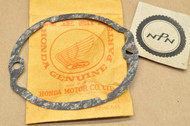 NOS Honda CB100 CB125 CL100 CL125 CT125 SL100 SL125 TL125 XL100 XL125 Points Cover Gasket 30372-107-000