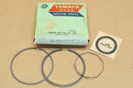 NOS Yamaha 1974-76 DT175 1975-76 TY175 0.25 Oversize Piston Ring Set for 1 Piston = 3 Rings 443-11610-10