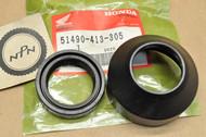 NOS Honda CB450 SC CB450T CM450 CR80 R Front Fork Seal Set 51490-413-305