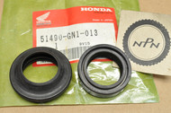 NOS Honda XR100 R XR80 R Front Fork Seal Set 51490-GN1-013