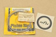 NOS Yamaha 1969-70 L5 1972 LT2 1967 YL2 1968 YLCM Standard Piston Ring Set for 1 Piston = 2 Rings 305-11601-00