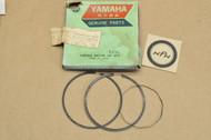 STD NOS 1974-75 Yamaha MX175 Piston Ring Set 455-11610-00