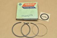 NOS Yamaha 1974-76 DT175 1975-76 TY175 Standard Piston Ring Set for 1 Piston = 3 Rings 443-11610-00