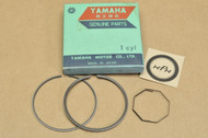 NOS Yamaha 1970-72 R5 1973-75 RD350 0.25 Oversize Piston Ring Set for 1 Piston = 3 Rings 360-11610-12
