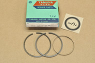 NOS Yamaha 1972-73 AT2 AT3 CT2 CT3 Standard Piston Ring Set for 1 Piston = 3 Ring 316-11610-00