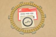 NOS Honda ATC250 ATC350 CR125 NX250 TRX250 VFR750 RC30 XR250 XR350 Clutch Friction Disk 22201-KAE-000