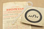 NOS Honda 1978-81 NC50 Express Wing Bolt Holder 77101-161-000