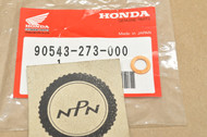 NOS Honda CB450 CBX CL450 CR250 GL1000 SL350 VF750 VT1100 XL250 XR350 XR80 Gasket Washer 90543-273-000
