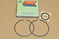 NOS Yamaha YZ250 Standard Piston Ring Set for 1 Piston = 2 Rings 1W5-11601-00