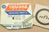 NOS Yamaha 1972 DS7 1970-72 R5 1973-75 RD250 RD350 Stator Brush Spring 278-81617-20