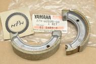 NOS Yamaha CE50 CG50 Jog SH50 Razz Front Wheel Brake Shoe Set 27V-W2535-00
