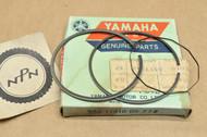 NOS Yamaha 1976-80 DT100 1979-81 MX100 Standard Size Piston Ring Set for 1 Piston = 3 Rings 558-11610-00