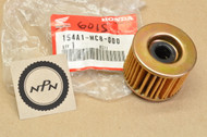 NOS Honda 1982-83 FT500 Ascot Oil Filter Element 154A1-MC8-000