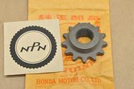 NOS Honda CA72 CA77 CA95 CB72 CB77 CB92 Starter Motor Sprocket 31202-253-003