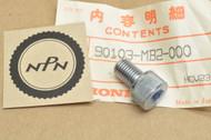NOS Honda VF1000 VF700 VF750 Sub Frame Socket Bolt 90103-MB2-000