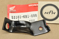 NOS Honda 1984-85 XL125 S 1983 XL185 S 1983-84 XL200 R Right Front Turn Signal Stay Bracket 53101-KB1-600
