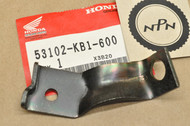 NOS Honda 1984-85 XL125 S 1983 XL185 S 1983-84 XL200 R Left Front Turn Signal Stay Bracket 53102-KB1-600