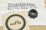 NOS Honda CMX250 CMX450 Rebel Handle Bar End Weight Rubber A 53106-KR3-770