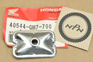 NOS Honda 1984-95 CR80 R Drive Chain Adjuster Retainer Plate 40544-GM7-700