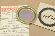 NOS Honda CB550 SC CB650 SC CB700 SC CX500 CX650 VT500 VT700 VT750 Swingarm Dust Seal Plate 52118-415-000