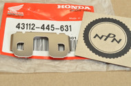 NOS Honda CB1000 CB900 CBR600 CX650 GL1100 GL1200 VF1000 VF1100 Rear Bracket Caliper Retainer 43112-445-631