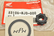 NOS Honda CBR600 F Hurricane CMX450 Rebel GB500 NT650 Hawk VF1000 Handle Bar End Weight Rubber A 53106-MJ0-000