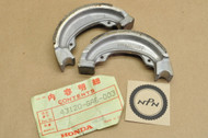NOS Honda NA50 NC50 NH80 NX50 Rear Brake Shoe Set 43120-GA6-003