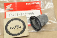 NOS Honda ATC185 ATC200 TLR200 SL100 SL125 XL125 XL200 XR200 Oil Filter Screen 15421-107-000