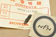 NOS Honda C100 C105 C100 CA160 CA175 CA200 CA95 CB160 CB175 CB350 CB92 XL250  Z50 Tappet Screw 90012-333-000