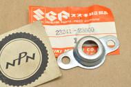 NOS Suzuki TC100 TC125 TM75 TS100 TS125 TS185 TS50 TS75 Clutch Release Screw Cover 23241-23000