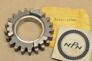 NOS Suzuki 1968-75 T500 Fourth 4th Driven Gear 21T 24341-15000