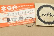 NOS Suzuki A100 DR125 GN125 GT250 GT380 RM125 RM80 SP125 TC125 TM100 TS125 Piston Pin Circlip 09381-14001