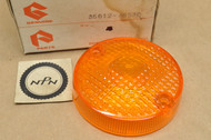 NOS Suzuki SP100 SP125 SP250 SP500 TS100 TS125 TS185 TS250 Turn Signal Lens Cover 35612-48530