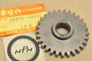 NOS Suzuki GT185 RM100 RM125 TC125 TM100 TM125 TS100 TS125 TS185 Kick Starter Idle Gear 29T 26260-28002