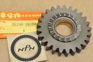 NOS Suzuki 1985 DR250 1982-85 SP250 Kick Starter Drive Gear 25T 26240-38200