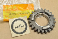 NOS Suzuki 1976-77 GT500 1971-75 T500 Third 3rd Driven Gear 22T 24331-15000