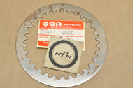 NOS Suzuki DR125 LT230 LT250 RM100 RM80 SP200 TC185 TM125 TS100 TS125 TS185 Clutch Plate 21451-19A00