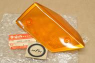 NOS Suzuki 1986-88 GV1400 Cavalcade Right Turn Signal Blinker Lens Cover 35612-24A00
