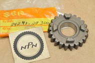 NOS Suzuki 1976-78 RM100 1975-78 RM125 1974-75 TM100 1973-75 TM125 Fourth 4th Driven Gear 22T 24241-28300