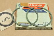 NOS Yamaha 1967 YL2 0.75 Oversize Piston Ring Set for 1 Piston = 2 Rings 166-11601-31