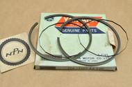 NOS Yamaha 1968-71 DT1 1.00 Oversize Piston Ring Set for 1 Piston = 4 Rings 214-11601-43