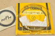 NOS Yamaha 1970-71 HT1 0.50 Oversize Piston Ring for 1 Piston = 1 Ring 276-11611-90