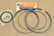 NOS Yamaha 1968-71 DT1 0.50 Oversize Piston Ring Set for 1 Piston = 4 Rings 214-11601-23