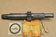 NOS Suzuki 1974-75 TM100 1973-75 TM125 Transmission Counter Shaft 24121-28302