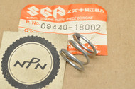 NOS Suzuki ALT50 DR100 DR200 GN125 GSXR50 GT250 GT500 LT230 LT250 SP125 SP200 T20 T250 T500 Spring 09440-18002