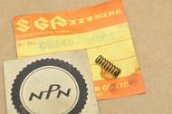 NOS Suzuki 150-S32 A100 AC100 AS100 B100 B105 T20 T305 TC250 TC305 Kick Starter Pawl Return Spring 09440-04002
